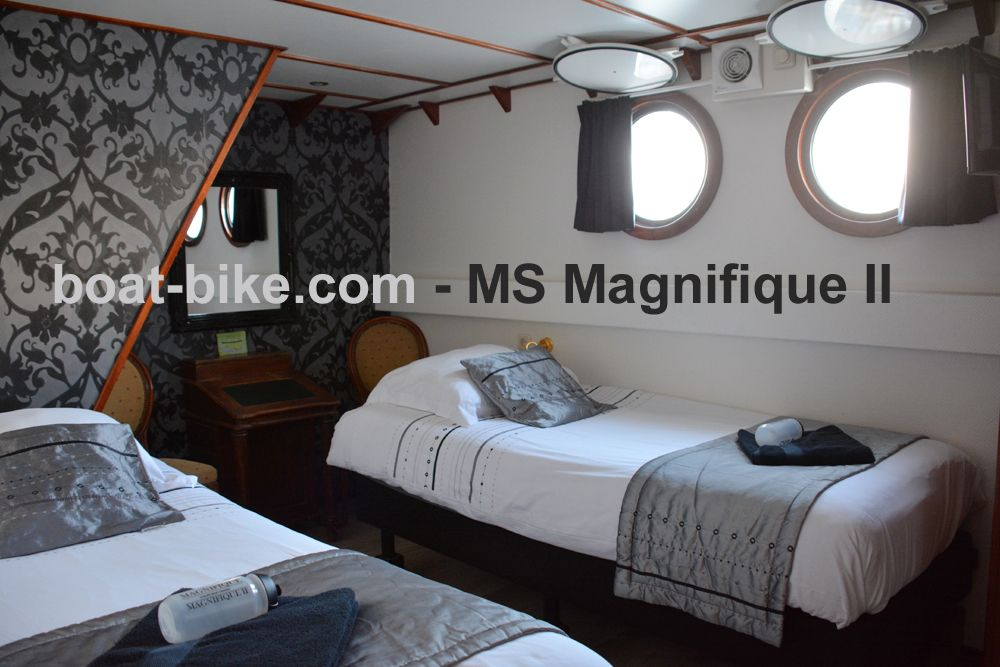 MS Magnifique - cabin lower deck