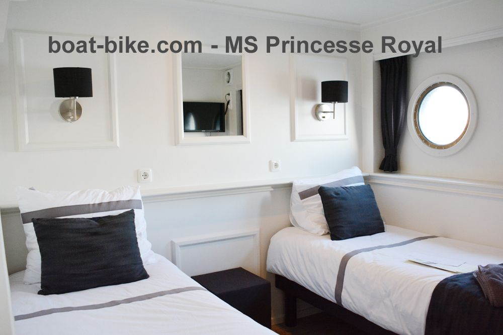 MS Princesse Royal - cabin