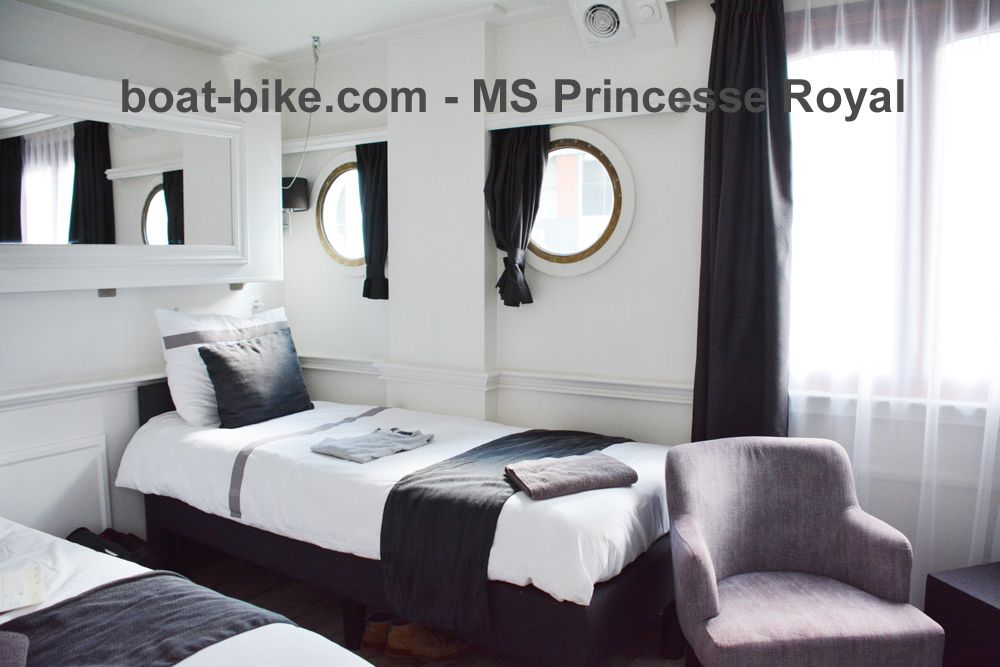 MS Princesse Royal - premium cabin