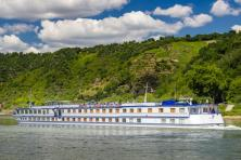 Boat & bike on the Rhine - MS Olympia
