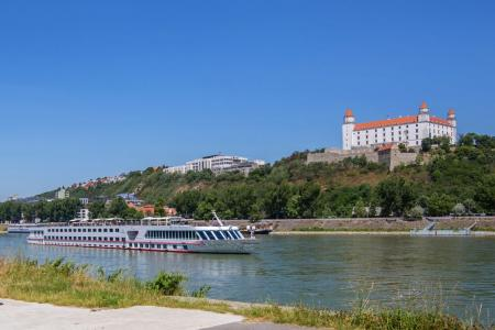 The Danube river with MS Carissima